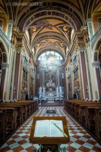 Kirche des heiligen Ignazius, Gorizia, Italien