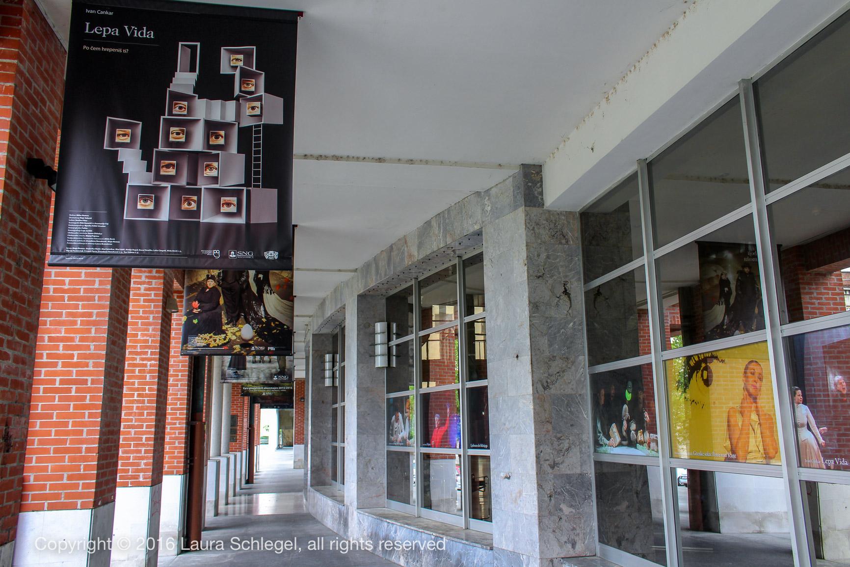 Das Theater von Nova Gorica, Slowenien