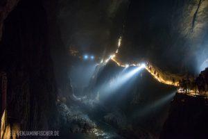 Die größte unterirdische Schlucht Europas, über 130 Meter