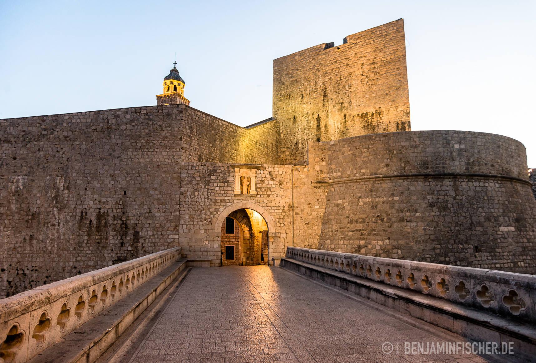 Eingangstor der Stadtmauer