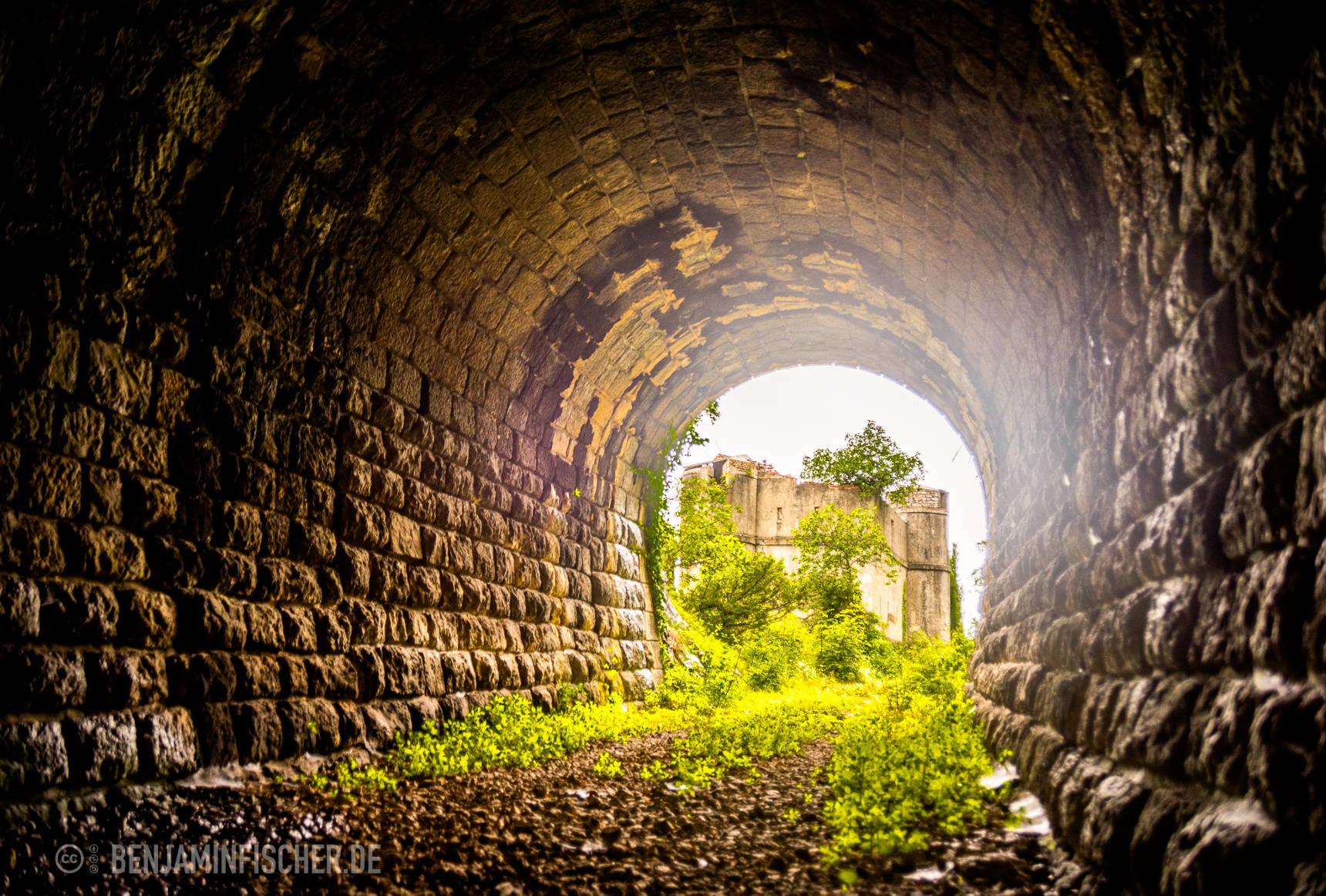 Tunnel, der bald wieder durchfahren werden soll