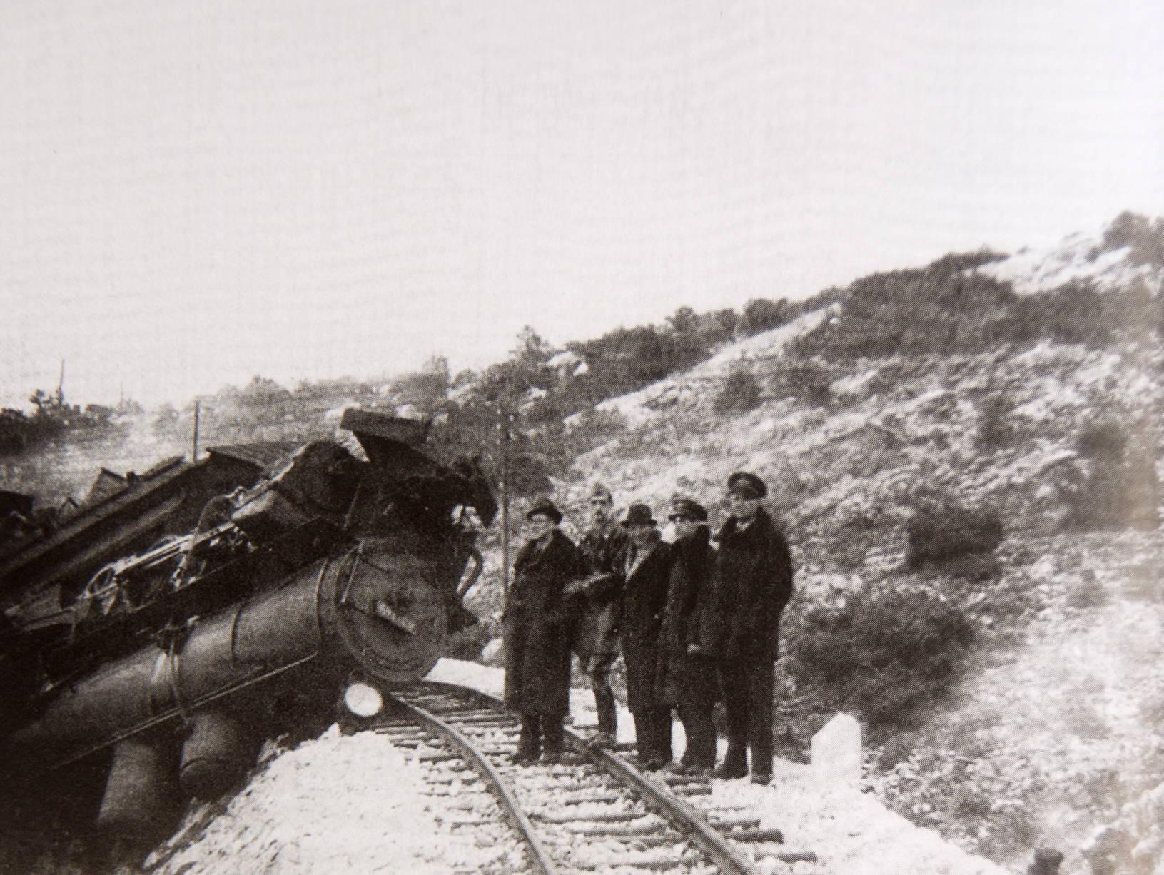 """Im Krieg wurde """"Ciro"""" von den Gleisen geworfen"""