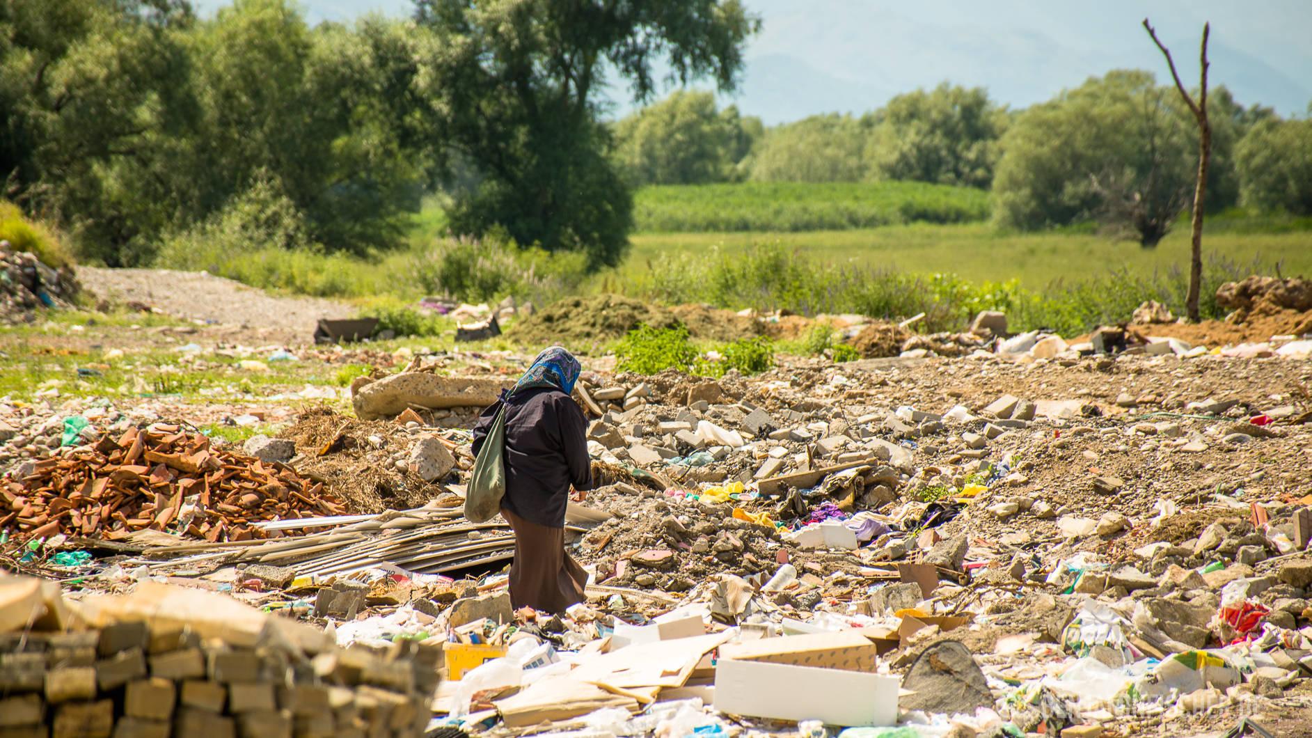 Im Slum von Shkodër.